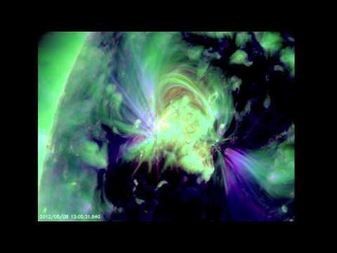 NASA SDO - M1.4 Solar Fl on May 8,