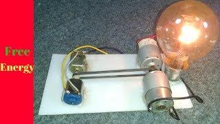 Serbest Enerji Jeneratör 109 için 12 V 4 Motor Giriş Voltajı: 12Dc Çıkış 61 Ac Bedava Enerji üretmek