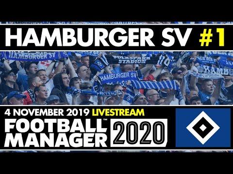 HAMBURGER SV FM20 BETA   Stream 1   THE BEGINNING (ish)   Football Manager 2020