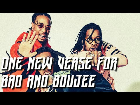 Quavo adds NEW VERSE to Bad and Boujee and takeoff is still left off