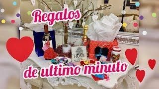 REGALOS DE ULTIMO MINUTO PARA SAN VALENTíN | DIY BONITOS Y FACILES
