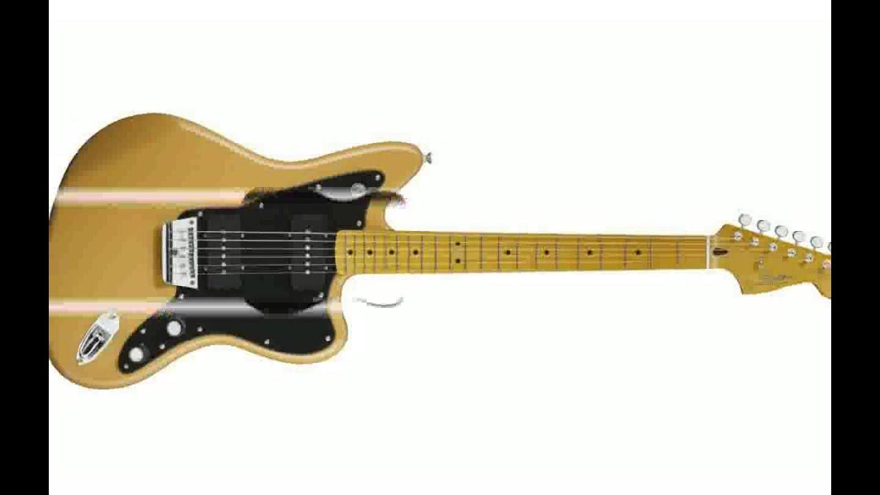 fender modern player jazzmaster hh with maple fingerboard electric guitar youtube. Black Bedroom Furniture Sets. Home Design Ideas