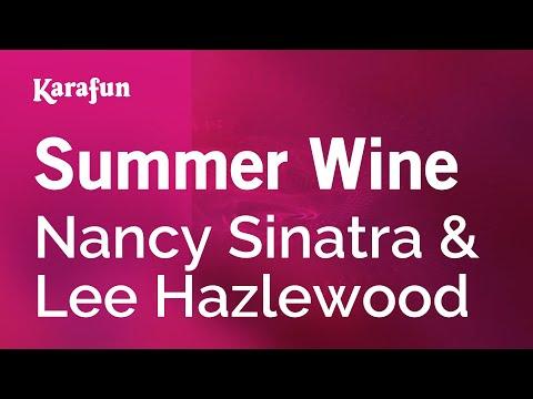 Karaoke Summer Wine - Nancy Sinatra *