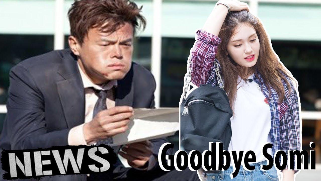 Tak kunjung debut.  Somi keluar dari JYP entertainment