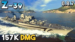Z-39: Sneaky DD - World of Warships