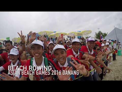 Beach Sprint Rowing Asian Beach Games 2016 Danang