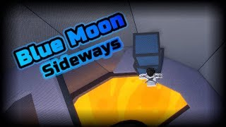 [CHALLENGE] Can I Complete Blue Moon Sideways? | ROBLOX FE2 Map Test