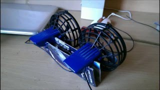 RC Air boat - home made