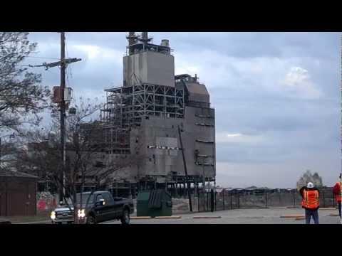 Boiler Implosion IPCO Bastrop, LA