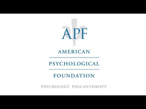 The American Psychological Foundation: An Overview