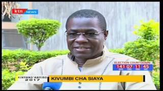 Kinyang'anyiro 2017: Kivumbi cha Siaya na Ugavana Nyeri