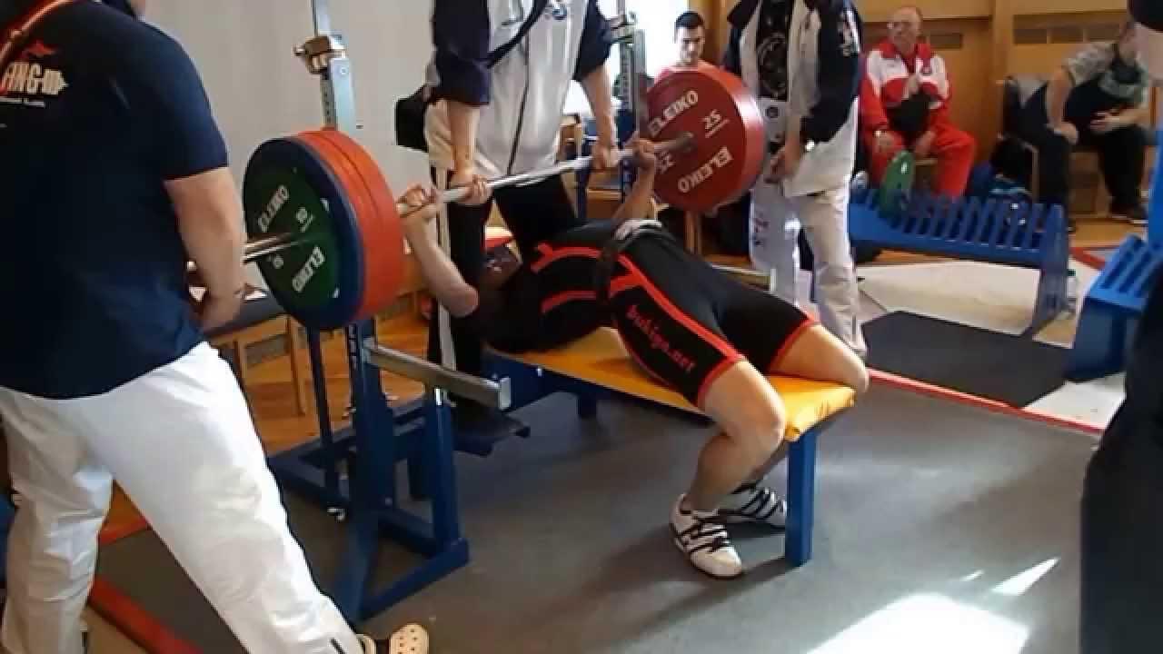 Yuki Fukushima JPN warm up 5 2015 IPF Men s World Benchpress