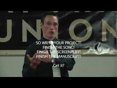 Live from SAG/AFTRA -- Monroe Mann -- How to Produce Your Own Projects (In 10 Simple Steps)