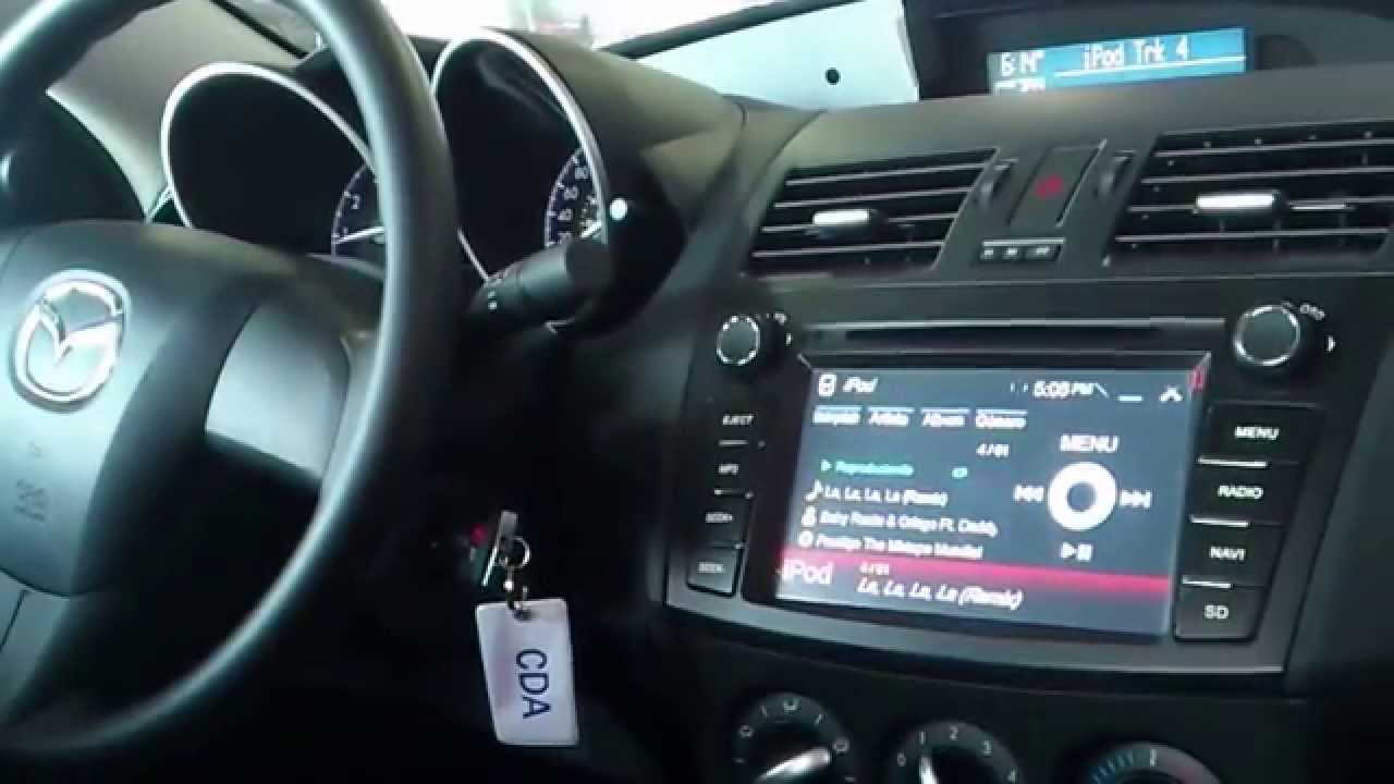 Pantalla Dvd Mazda3 2013 In Dash Youtube