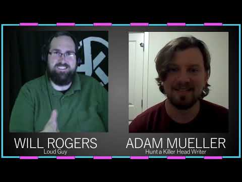 The Haunted Hunt 9 CLIP - An Interview with Hunt A Killer's Head Writer Adam Mueller