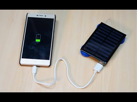 How to make Solar  Mobile charger II very simple II