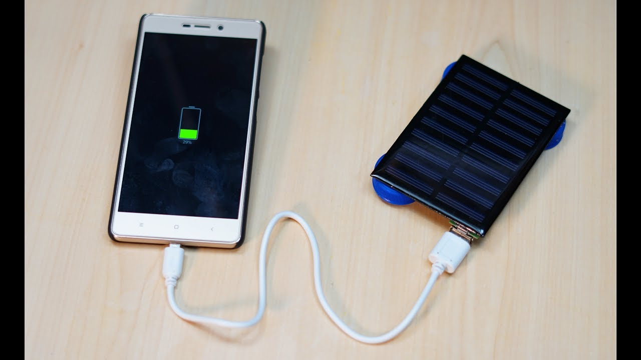 How To Make Solar Mobile Charger Ii Very Simple