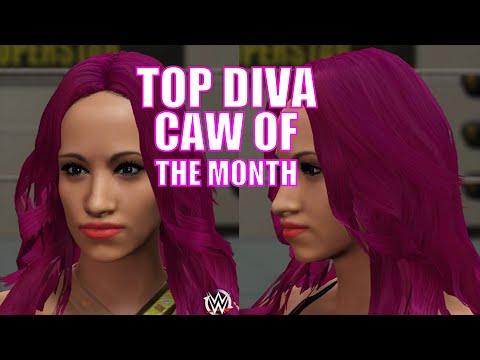 WWE 2K16 Top Diva CAW Of The Month Sasha Banks