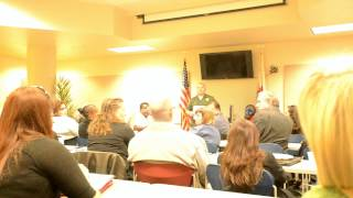 OPEN FORUM AT SHERIFF DEPT TWIN TOWERS!