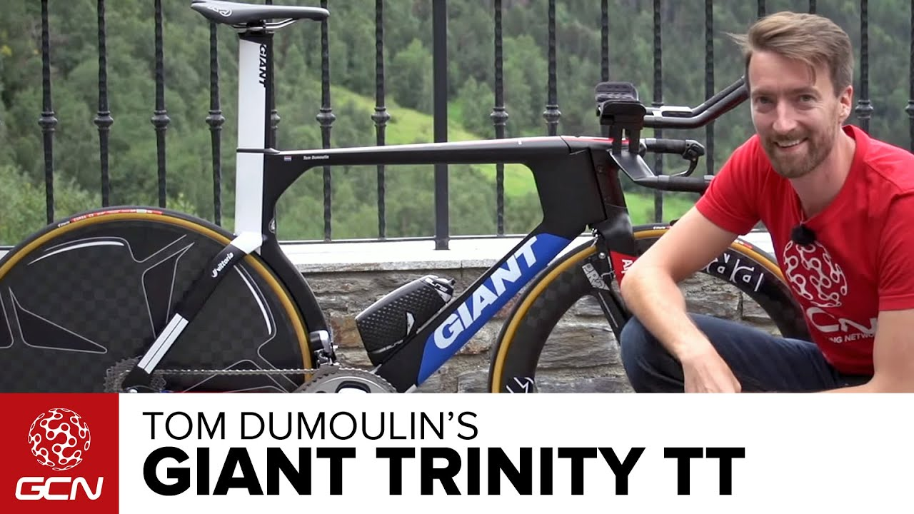 Tom Dumoulin S Giant Trinity Time Trial Bike Youtube