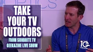 Sunbrite TV Takes the TV Outside at Infocomm 2018 LIVE