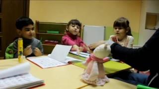 Фрагмент занятий по подготовке к школе для детей 5-7 лет