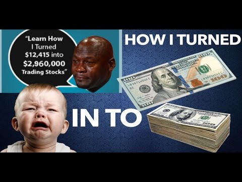 WHY YOU DON'T SHORT PENNY STOCKS – How I Turned $160 INTO $3000 W/ Options Trading – NOT DAY TRADING