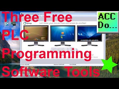 Three Free PLC Programming Software Tools