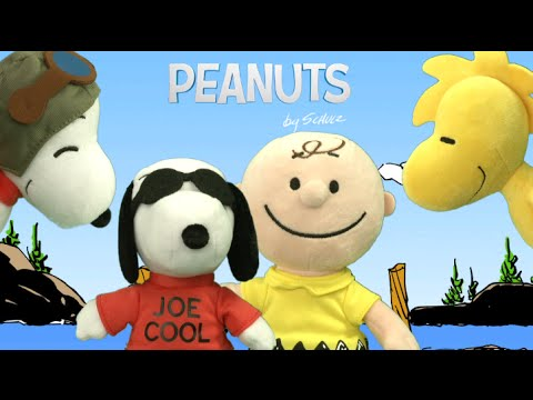 Peanuts Character Plush By Just Play Youtube