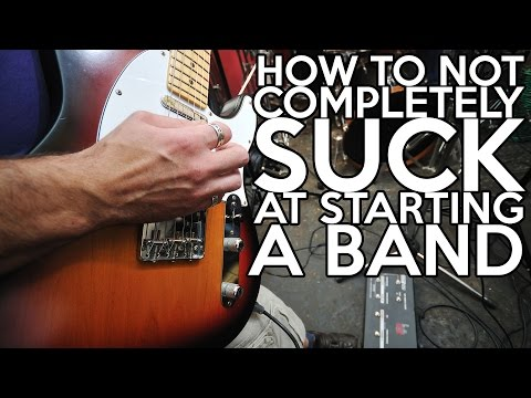 How to Not COMPLETELY SUCK at Starting a Band | SpectreSoundStudios
