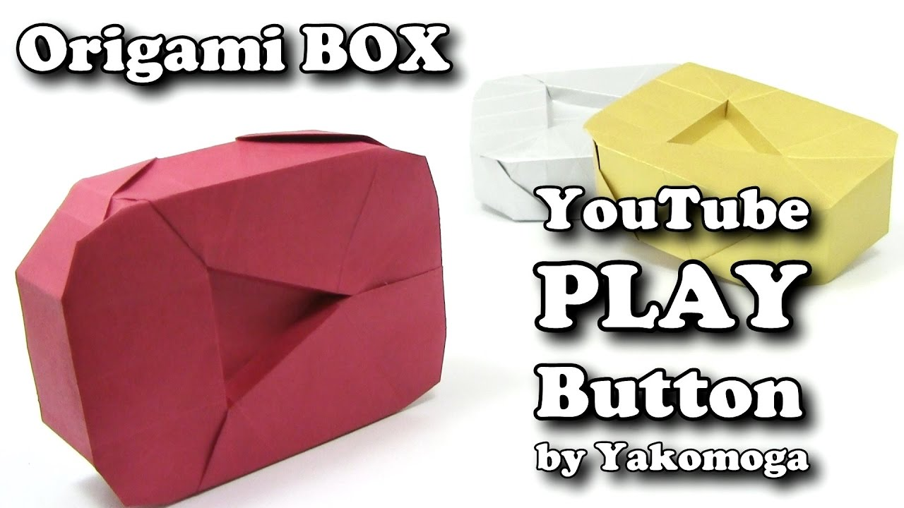 Origami YouTube PLAY BUTTON by Yakomoga (PART 1 of 2 ... - photo#23