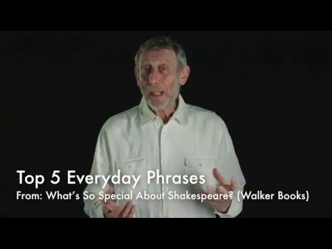 Five everyday phrases from Shakespeare