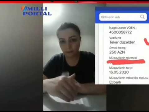 Натаван Халилова озвучила обвинения в адрес Министерства труда и социальной защиты населения