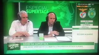 Benfica 5 - 0 Sporting melhores comentários