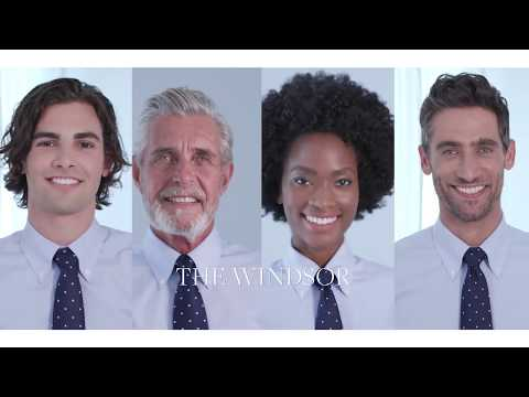 How to tie a half windsor knot video