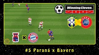 Winning Eleven 2002: CBF vs. UEFA 2004 (PS1) #5 Paraná x Bayern