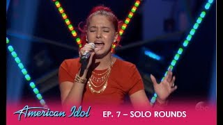Crystal Alicea & Jurnee: Solo Round Performances | American Idol 2018