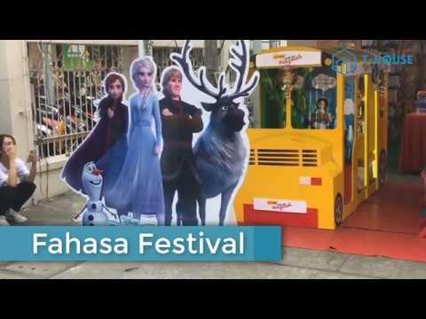Thú vị Lễ hội sách FAHASA Festival – T HOUSE