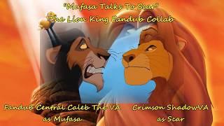 Mufasa Talks To Scar // Lion King Fandub Collab