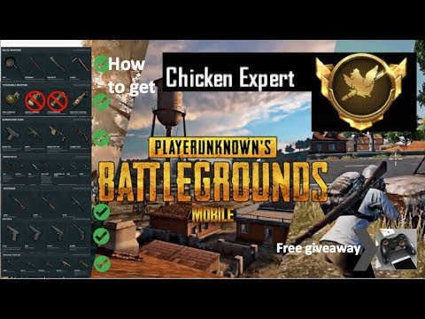 How To Get Chicken Expert In Pubg Mobile Chance To Win A Free Pxn Bluetooth Controller