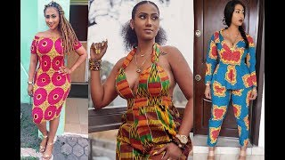 Download lagu Hajia4Real s Stunning Looks in African Fashion dresses MP3
