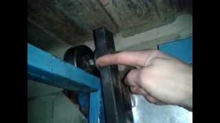 подъёмные ворота вид изнутри(конструкция подъёмных ворот подробнее по просьбам! удачи! немного только получилось темновато(, 2012-12-13T11:34:32.000Z)