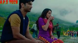 sushant Singh rajput and sara ali khan best kedarnath romantic video