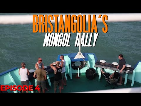 STRANDED AT SEA | Turkmenistan | Bristangolia's Mongol Rally 2019 (Ep.4)