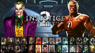 Injustice 2: Full Character Roster Comparison! Hate It Or Love It? (Injustice Gods Among Us 2)