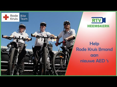 Help Rode Kruis IJmond aan nieuwe AED's