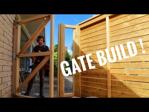 Garden Gates Wooden Diy