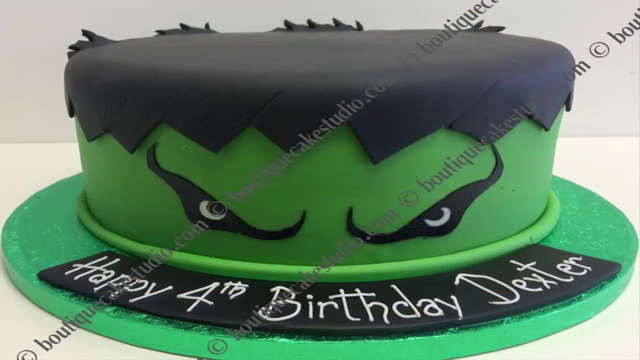 Hulk Cakes For Kids How To Make A Cake With Incredible 2017