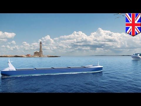 Drone ships: Rolls-Royce developing futuristic fleet of semi-autonomous ships - TomoNews