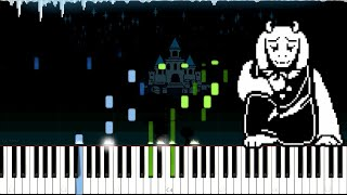 Undertale // An Ending | LyricWulf Piano Tutorial on Synthesia // OST 81